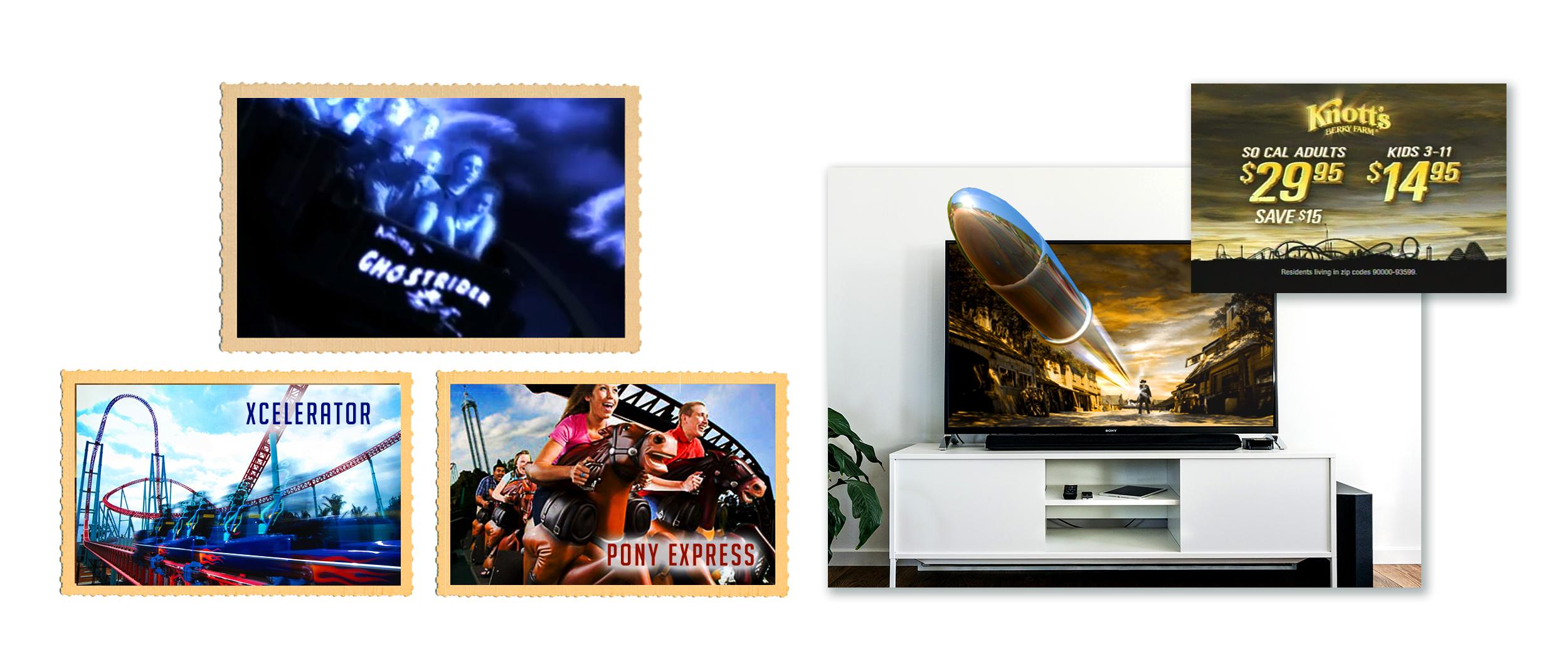 Concept, Storyboard, Full Production Radio & TV