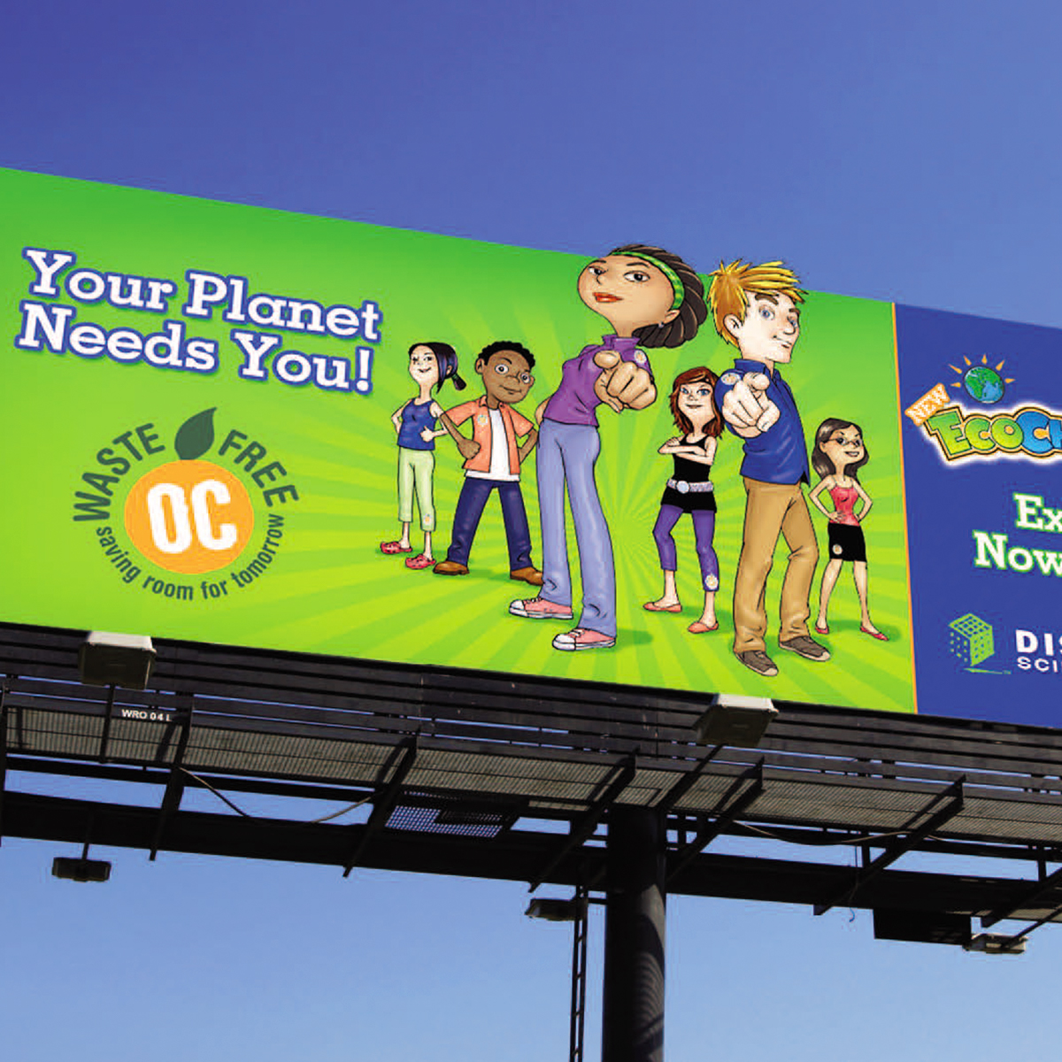 Eco Challenge billboard