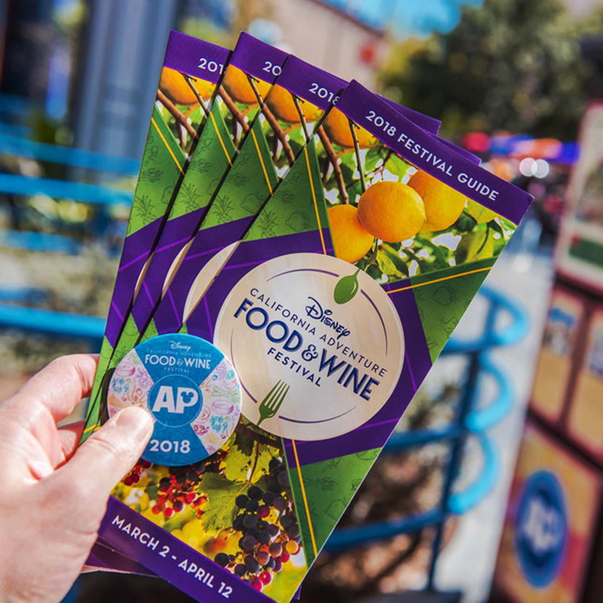 Disney's Food & Wine Festival Guide